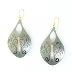 Holly Yashi Chantal Earrings - Sage