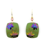 Holly Yashi Meadow Earrings - Green