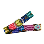 Jenny Krauss Paisley Embroidered Belt, Large