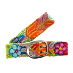 Jenny Krauss Floral Embroidered Belt-Small