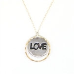 J & I Love Necklace