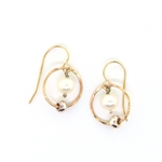 J & I 14 Kt. Gold Fill Earrings