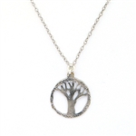 J & I Tree of Life Necklace