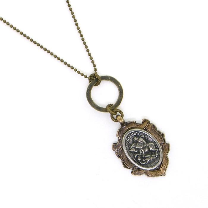 Kbd studio necklace st george kbd 34 necklace st george pendant aloadofball Image collections
