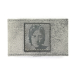 "KBD 2"" Cuff Light Grey Leather - John Lennon"