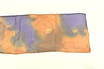 Leave It To Weaver Sienna Scroll Silk Scarf
