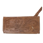 Leaders in Leather Vaquetta Natural Wallet