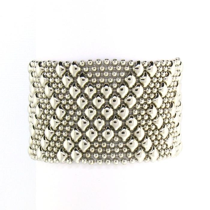 Liquid Metal Mesh Bracelet B44 N