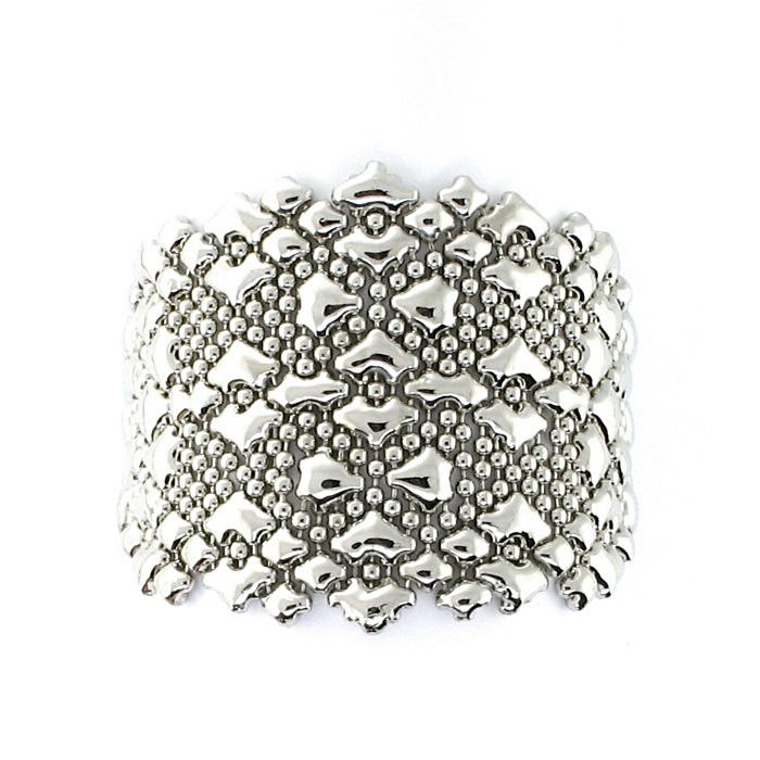 Liquid Metal Mesh Bracelet B87 N