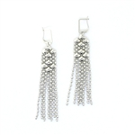Liquid Metal Mesh Earrings E14-N