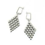 Liquid Metal Mesh Earrings E17-N