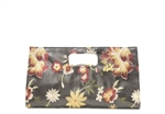 Liz Soto Large Multi Embroidered Flower Clutch