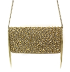 Mary Frances Sway Gold Handbag or Clutch