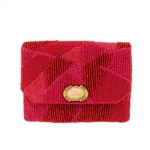 Mary Frances Tickle Me Pink Mini Handbag