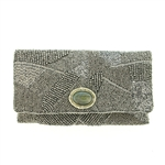 Mary Frances Riverstone Clutch/Handbag