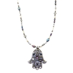 Michal Golan Hamsa Necklace 1225