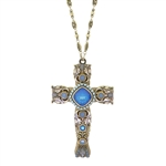 Michal Golan Pacific Opal Cross Necklace 1920