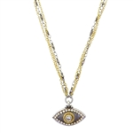 Michal Golan Evil Eye Necklace 2165