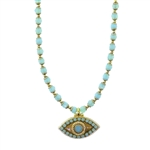 Michal Golan Evil Eye Necklace 2172