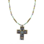 Michal Golan Cross Necklace 778