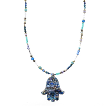 Michal Golan Hamsa Necklace 882