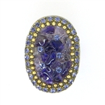 Michal Golan Amethyst Oval Ring - R257