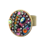 Michal Golan Multi-Bright Circle Ring R-261