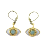 Michal Golan Evil Eye Earrings S-2302