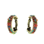 Michal Golan Hoop Earrings S-5249