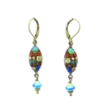 Michal Golan Multi-Bright Dangle Earrings S-6730
