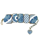 Mamas Little Babies China Blue Bracelet