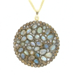Nunu Designs Labradorite Large Round Necklace