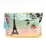 Papaya Accessory Pouch Large - Eiffel Tower