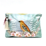 Papaya Accessory Pouch Large - Golden Bird