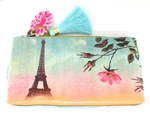 Papaya Accessory Pouch Small - Eiffel Tower