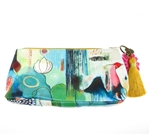 Papaya Accessory Pouch Small - Flora Bird
