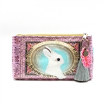 Papaya Accessory Pouch Small - Honey Bunny