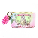 Papaya Coin Purse - Owl Dreamer