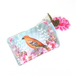 Papaya Coin Purse - Golden Bird