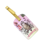 Papaya Luggage Tag - Owl Dreamer