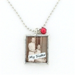 Peppermint Charms Sisters Necklace