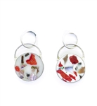 Sandy Baker Confetti Style Fiesta Earrings