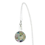 Sandy Baker Abalone and Seed Pearl Pendant