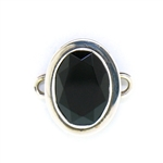 Tabra Black Onyx Faceted Oval Charm