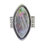 Tabra Mother of Pearl Ring