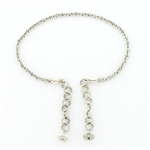 Tabra Connector Anklet Chain-Silver Bali Link - AK22