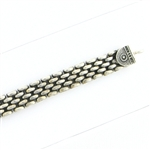 Tabra Connector Bracelet Chain-Silver Watch Band Style CBR25