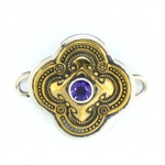 Tabra Bronze Baroque - Amethyst (Small)