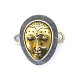 Tabra Bronze & Sterling Lady Buddha Charm (Small)