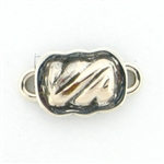 Tabra Small Silver Twist Charm